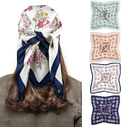 Good Quality Satin Head Scarves for Women