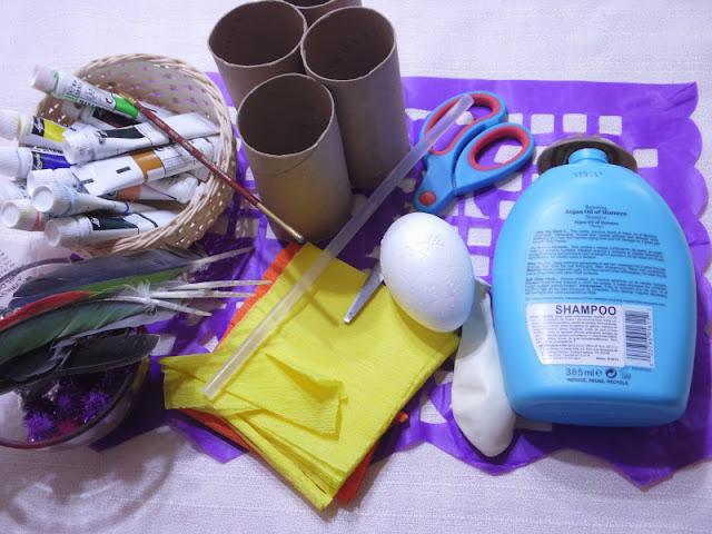 Alcancía de catrina  con material reciclado