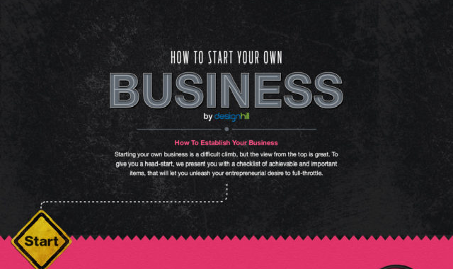 How To Start Your Own Business #infographic