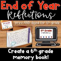 Upper Elementary Memory Book