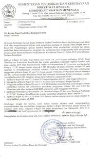 info resmi penggunaan erapor sd