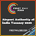 Airports Authority of India Recruitment 2020