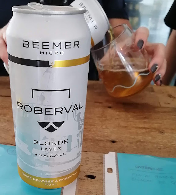 Roberval Beemer microbrasserie bière québec