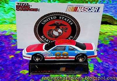 Buddy Baker #88 Marines 1991 Daytona 500 Support Our Troops Cars Military Racing Champions 1/64 NASCAR diecast blog