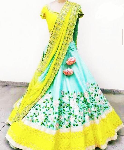 Lehenga Design Images For Girl