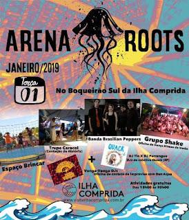 Ilha Verão 2019 convida para o Arena Roots no Boqueirão Sul