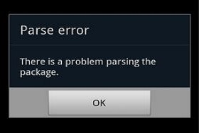 Cara Mengatasi Parse Error (There Was The Kasus Parsing The Package) Ketika Instal File Apk Android