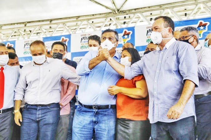 DETERMINADO - Flávio prega que o Maranhão continue no caminho certo