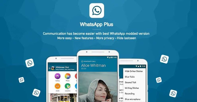 تحميل برنامج الواتساب بلس الازرق 2020 تحديث إخفاء الظهور للاندرويد اخر اصدار APK