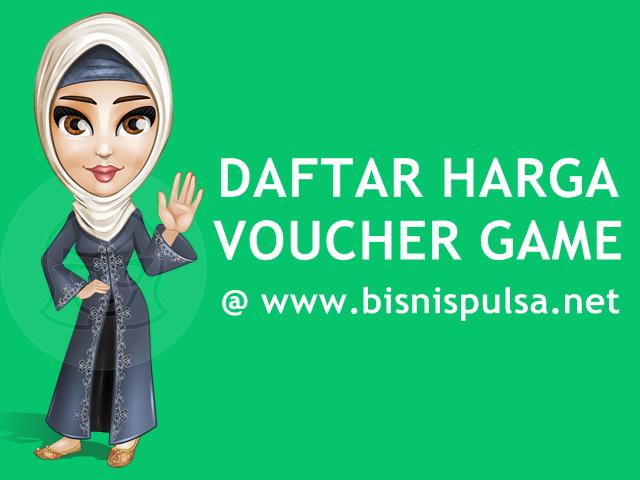 Daftar Harga Voucher Game Online Murah BisnisPulsa.net
