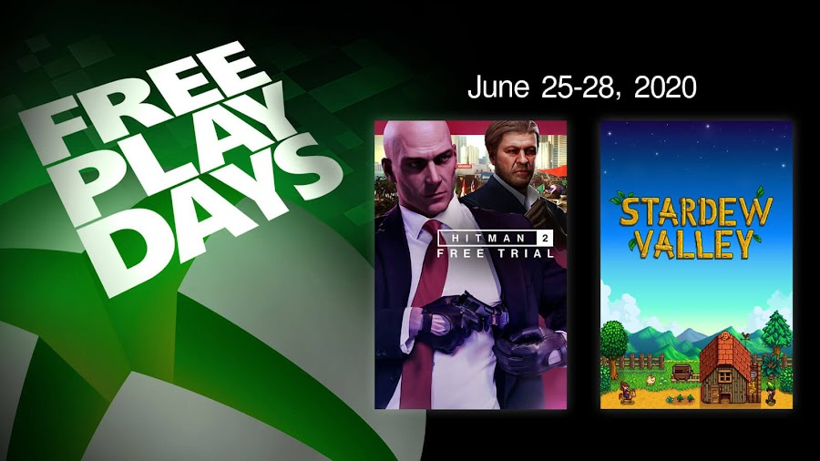 hitman 2 stardew valley xbox live gold free play days event