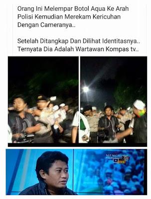 Tahukan Anda Ternyata Para Provokator Penyusup Demo 4 November Ternyata Adalah Teman Ahok (Lihat Gambar Berikut)