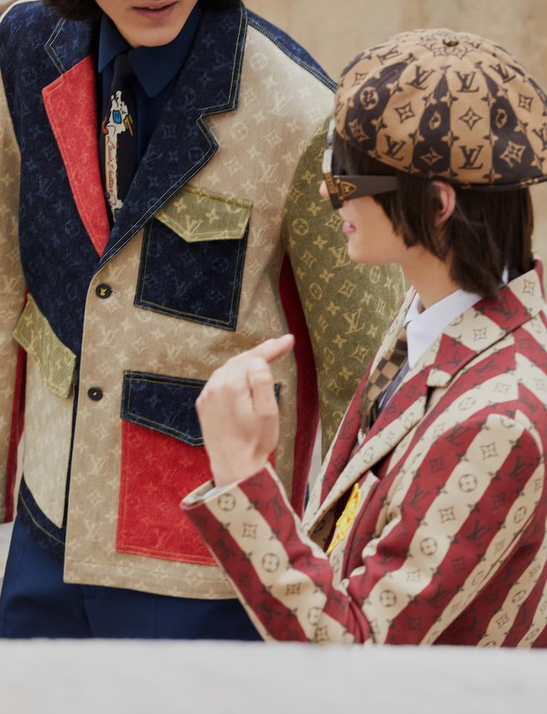 Louis Vuitton al cuadrado