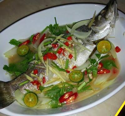 Gambar Resep Ikan Steam Thailand Asli Sedap