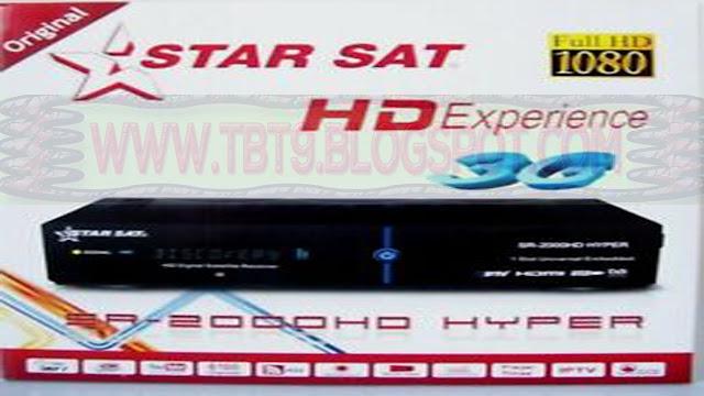 STAR SAT SR-2000HD HYPER POWERVU TEN SPORTS OK NEW SOFTWARE