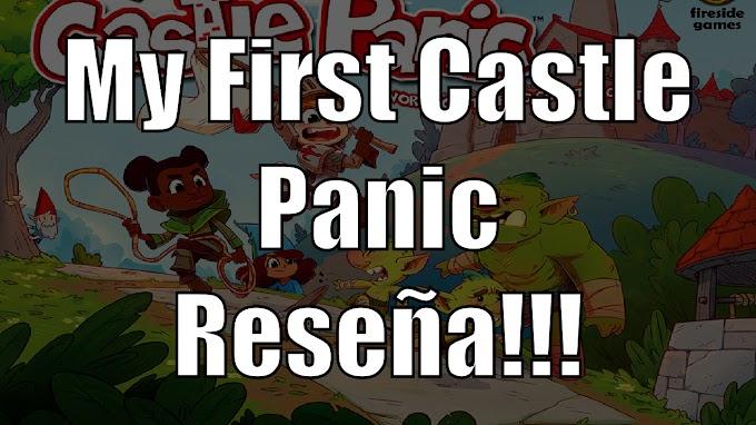 My First Castle Panic el juego de mesa Reseña!!!