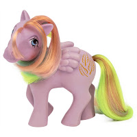 My Little Pony Classic Series Retro Tickle Year 3 Rainbow Pony