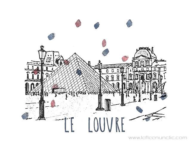 Compréhension orale, français, histoire du Louvre, vidéo et affiche à télécharger, Louvre, FLE