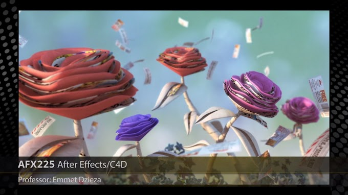 FXPHD – AFX225 Design and Animation with Cinema 4D and After Effects
