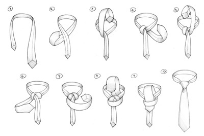 How to Tie A Tie : A PLATTSBURGH KNOT