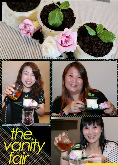 birthday party potted plant desserts ice cream