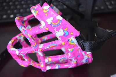 pink basket muzzle