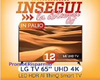Logo Spaccio Galbusera Tre Marie ''Insegui la dolcezza'' e vinci 12 TV LG 65''