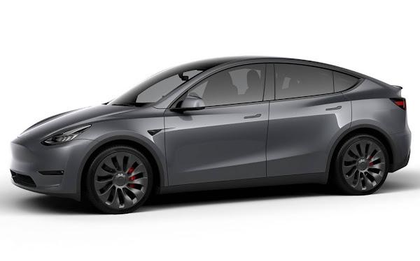 Tesla Model Y 2021 - China