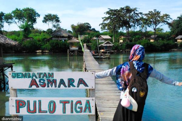 Wisata Pulau Tiga Banten