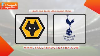 مشاهدة مباراة توتنهام ضد ولفرهامبتون 16-05-2021 في الدوري الانجليزي