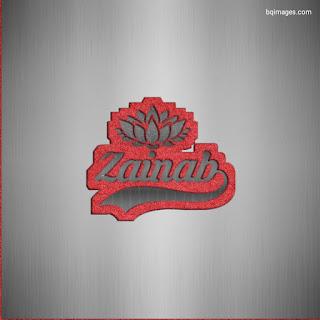 Zainab Name DP Image
