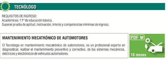 MANTENIMIENTO MECATRÓNICO DE AUTOMOTORES