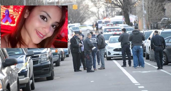Familiares de dominicana asesinada a balazos en Queens exigen captura del asesino y claman justicia