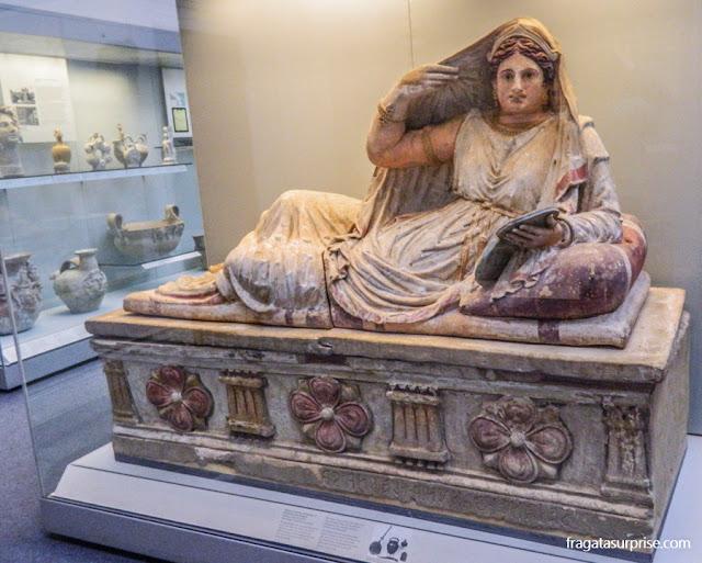 Coleção Etrusca do Museu Britânico de Londres