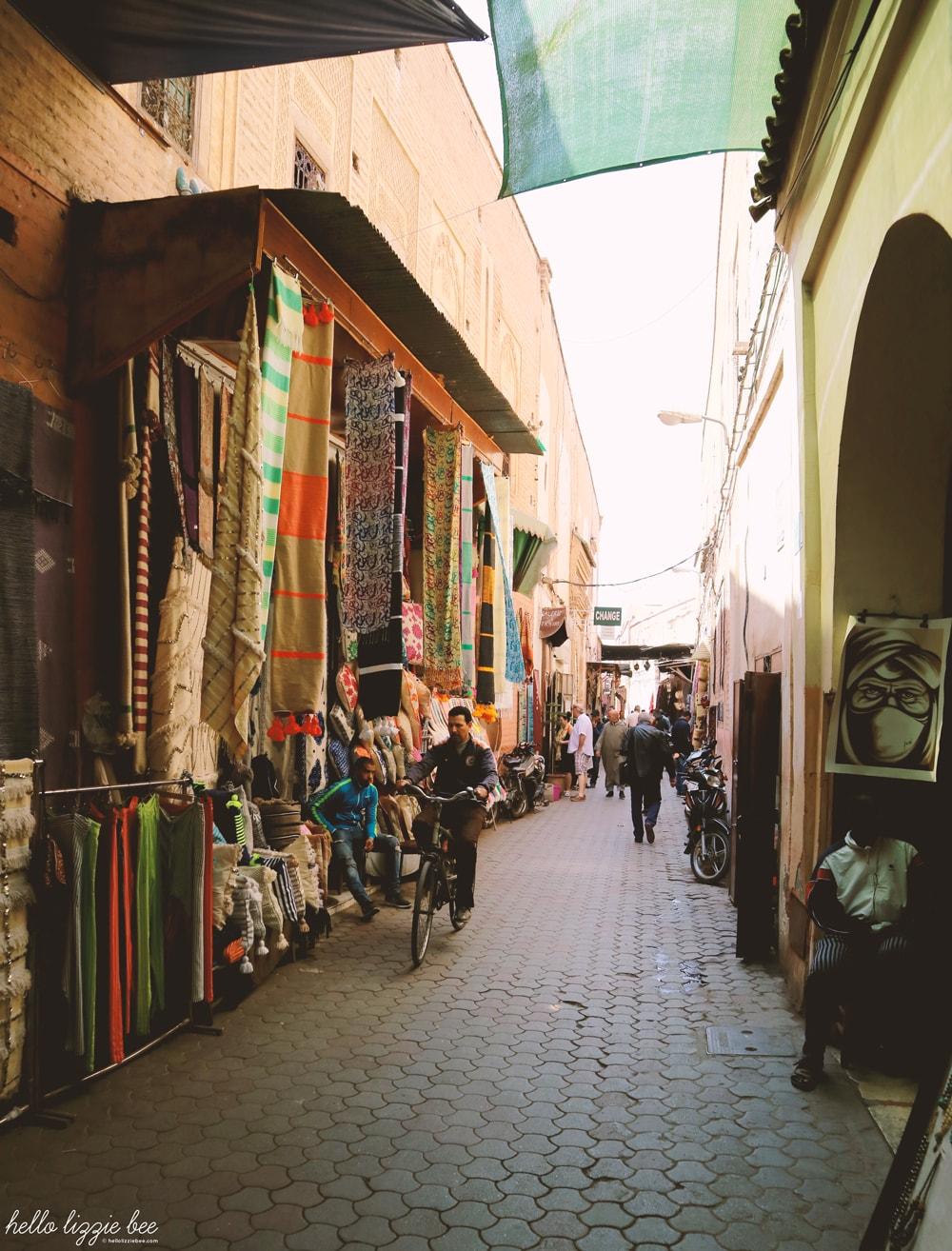 the souks, morocco