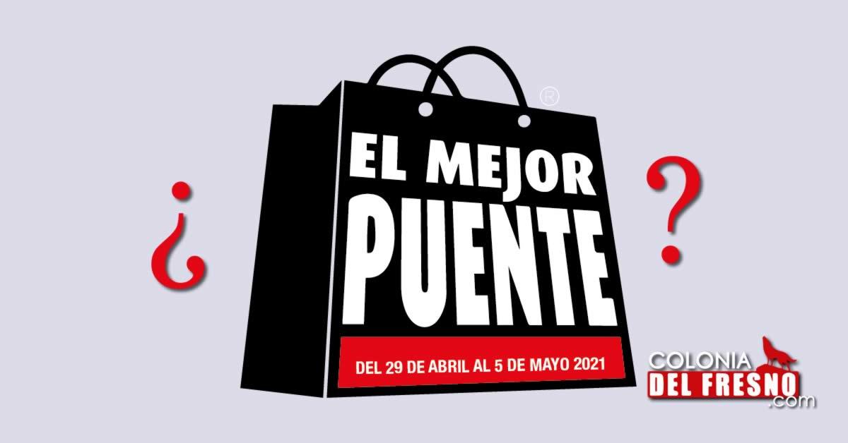 Logotipo de el mejor puente y fechas en Jalisco