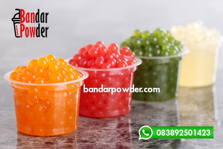 Jual Popping Boba Green Apple
