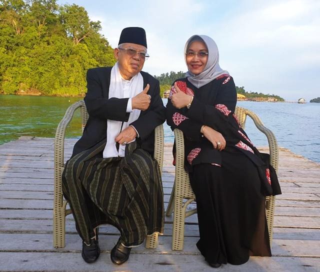 Profil Wury Estu Handayani Istri KH Ma'ruf Amin - IGkyai_marufamin