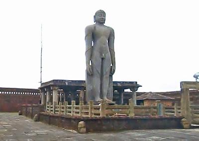 Gomateshwara or Bahubali monolith at Karkala