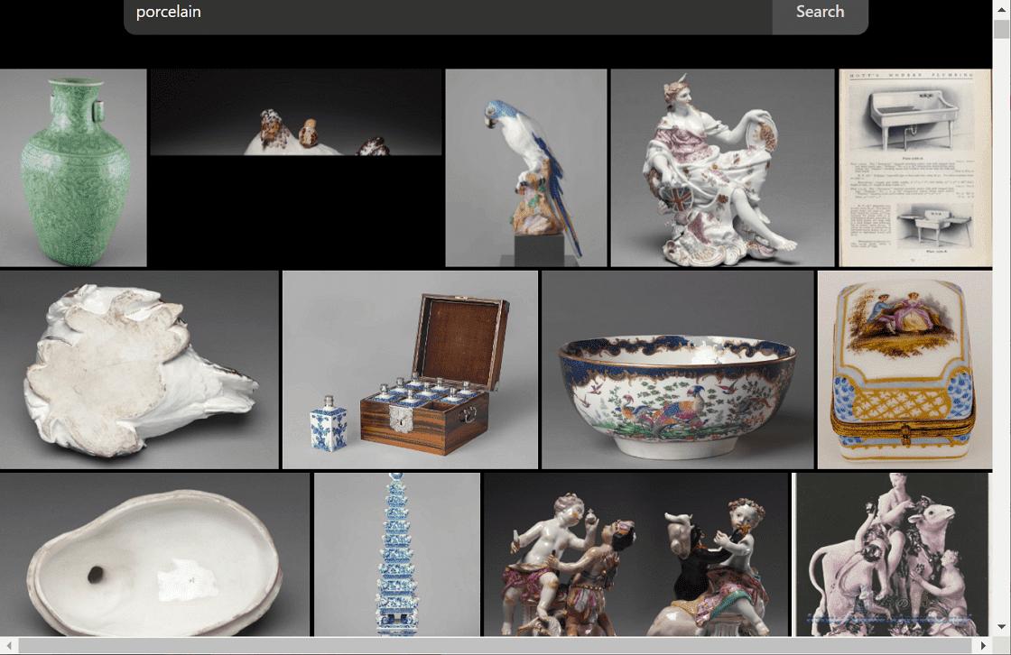 Museo搜尋六間機構的館藏藝術品圖片