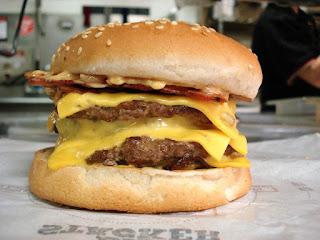 Image: Bacon Cheeseburger, by Skeeze on Pixabay