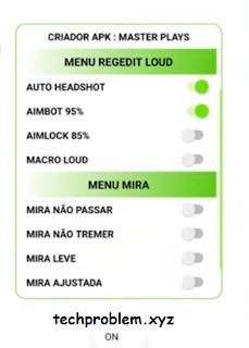 APK Regedit Luod VIP Auto Headshot Aimbot Aimlock Macro Free Fire