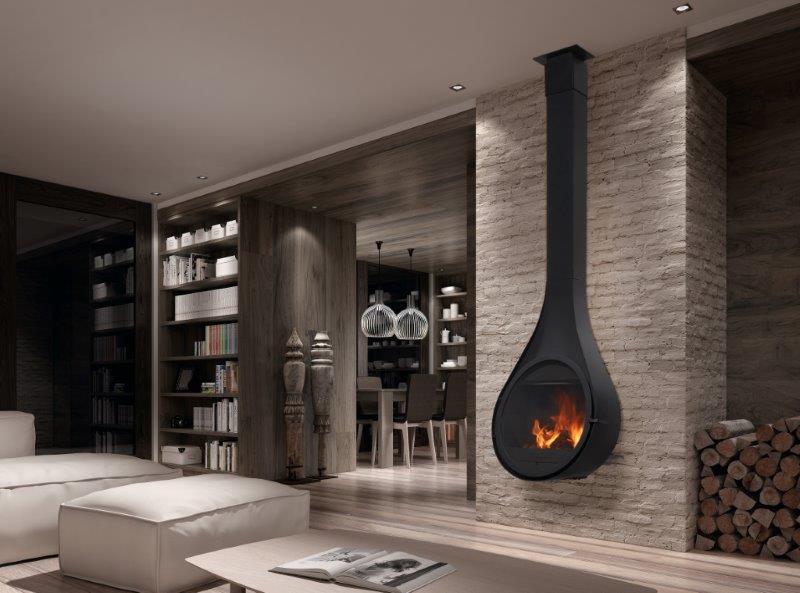 Casas modulares y prefabricadas de diseño: chimeneas de diseño ...