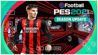 Download PES 2021 PPSSPP AC Milan Edition Best Graphics HD English Version & Latest Transfer
