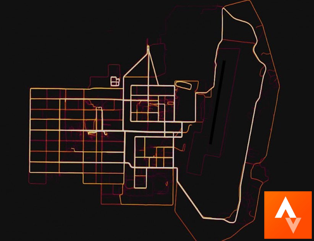 US army secret location disclosed by Strava