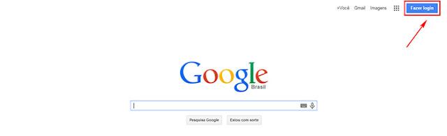 Gmail do Google como entrar de graça