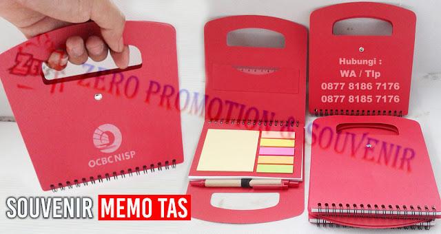 Mini bag note, notes daur ulang, memo bentuk tas, Memo Notes Post-It Pen, notebook stickynote logo, notebook murah bisa logo, memo promosi logo, notebook kantor logo, notebook hotel murah