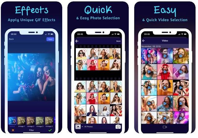 5 Aplikasi pembuat GIF Terbaik di Android dan IOS