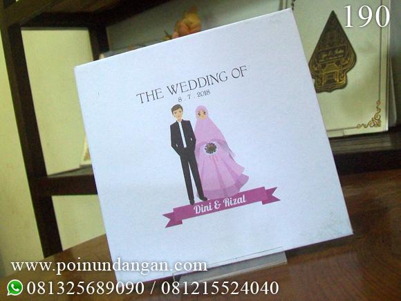 [Undangan pernikahan semarang salatiga kudus demak jepara kendal pekalongan murah unik hits hebat cantik wedding semarangan]