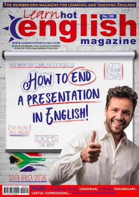 Hot English Magazine - Number 189